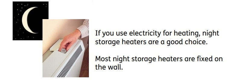 How to use storage heaters 1