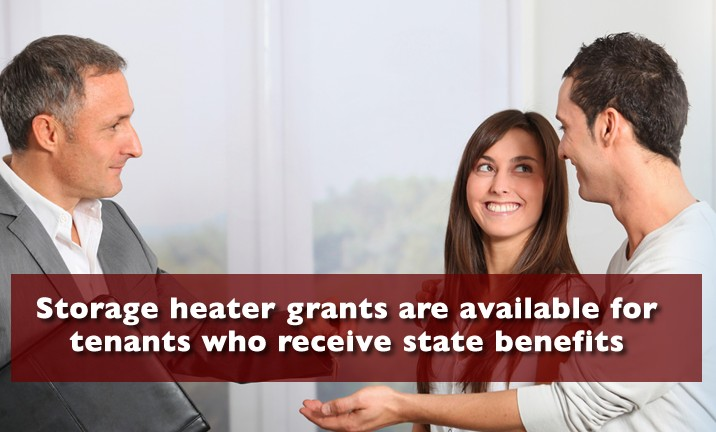 Storage Heater Grant for Tenants