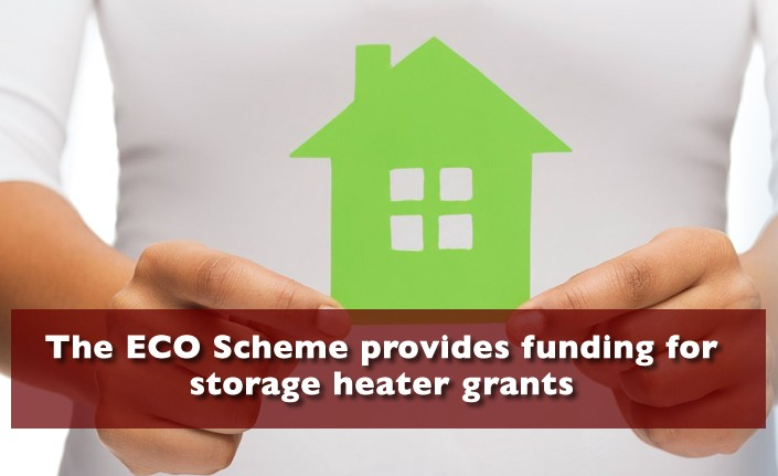 Storage Heater Grants Staffordshire from the ECO Scheme
