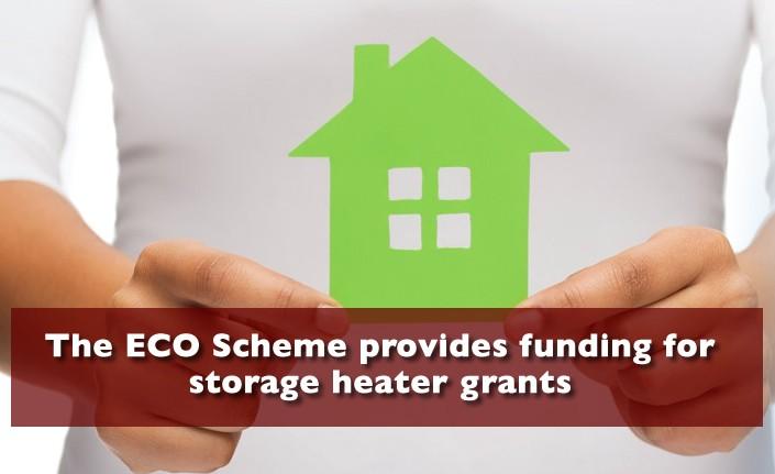 Storage Heater Grants Suffolk from the ECO Scheme